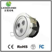 Buy cheap 3000~6500K 270Lm Luminou Flux LED Downlights Dimmable3W LG-TH-1003A product