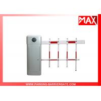 Buy cheap White Color Two Fence Parking Barrier Gate for Parking Gate System Application from wholesalers