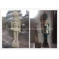 Buy cheap Fiberglass Soldier H120cm Shop Display Christmas Decorations With Custom Color product