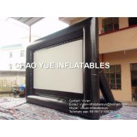 Buy cheap 0.6mm PVC Tarpaulin Air Sealed Outdoor Inflatable Movie Screen Customized product