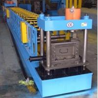 Buy cheap PLC Control Steel Door Frame Roll Forming Machine 16mm Wall Plate THK from wholesalers