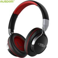 China AUSDOM PROMOTIONAL AH861 Over Ear Sharing Function Foldable Multiple Languages Bluetooth Headphones With Microphone on sale