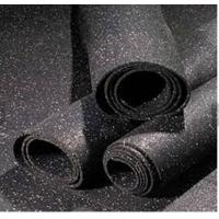 Buy cheap Recycled Rubber Granules Rubber Gym Flooring 1-1.2M Width Noise Reduction product