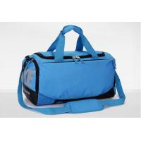 Mens Travel Duffel Bag , OEM Nylon Ripstop Blue Sports Bags Lightweight