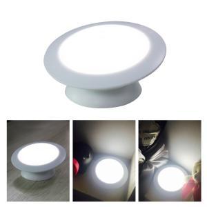 China Cordless Rotatable Motion Detector Night LightDC 5.0V With PIR Motion Sensor on sale