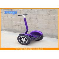 China Electric 2 Wheel Self Balancing Scooter Lithium Battery Purple For City wholesale