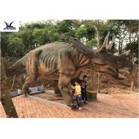 Buy cheap Realistic Full Size Dinosaur Models , Garden Artificial Life Size Dinosaur Models  product