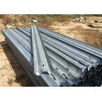 Buy cheap Anti Aging W Beam Highway Safety Barriers For Railway / Bridge / Road 4320mm product