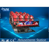 Buy cheap Horrible Movies 5D Simulator Ride Dynamic Motion Platform With Simplest Structure product