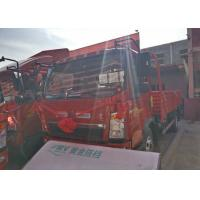 Buy cheap 2T Front Axle SINOTRUK HOWO Light Truck , 8 Ton Tipper Truck RHD 4X2 116HP from wholesalers