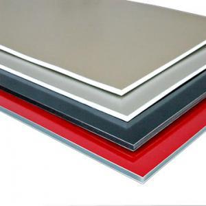 Buy cheap Cor cinzenta preta branca do painel composto de alumínio matte de alta qualidade superior da série PVDF de 4mm Alucobond product