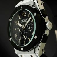 Buy cheap Military Black Mechanical Automatic Watches For Mens , Stainless Steel product