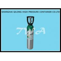 Quality Alloy Aluminium Cylinder High Pressure Aluminum Gas Cylinder 20L Safety Gas Cylinder for Medical use for sale