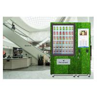 Buy cheap Restaurant University Gym Salad Vending Machine With Conveyor And Remote Control System product