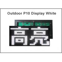 China P10 display panel light Led sign module For Advertising LED Display Board 5V LED display screen white color wholesale