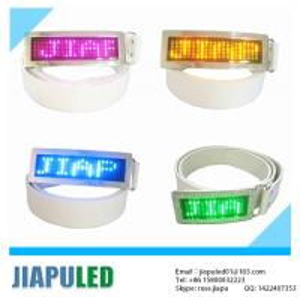 Buy cheap Guangzhou wholesale programmable wholesale led belt buckles product