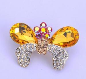 Кристаллическая фибула бабочки золота