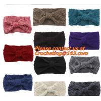 Buy cheap Women's Girl's Crochet Headband Knit hairband Flower Winter Ear Warmer Headwrap product