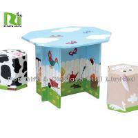 Buy cheap Offset 4 Color Corrugated Cardboard Toys With Foldable Seats And Tables product