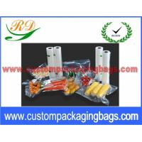 """Buy cheap Clear PA + NY Compound Vacuum Seal Bags For Vegetables Packaging 6"""" x 9"""" product"""