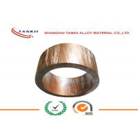 Buy cheap Strip Soft Bright Shunt Manganin Alloy of Copper and Nickel 1mm * 10mm for Shunt Resistance product