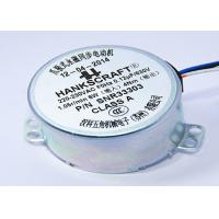 Buy cheap 220V AC Synchronous Motor , Micro Ac Motor HVAC Industry 6Nm 50 / 60 HZ product