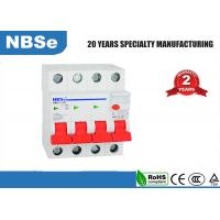 Buy cheap Small Residual Current Circuit Breaker For AC Volt 4 Pole  63 Amp 30 MA product