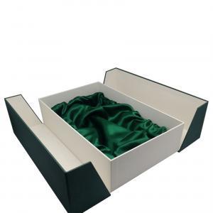 Buy cheap Two Door Open Cardboard Wine Box Packaging / Luxury 2 Bottle Wine Paper Box product