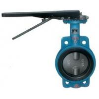 Buy cheap Double Eccentric Wafer Butterfly Valves Stainless Steel DN80 Motorized product