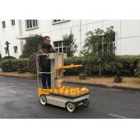 China 5.1m working height Self Propelled Electric One Man Lift For Cargo Handling wholesale