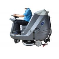 Buy cheap Automatic Ride On Sweeper Scrubber , Factory Stone Floor Cleaner Machine product