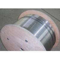 Buy cheap Stainless Steel Hydraulic Control Line , Control Line Tubing 50-4000m Length product