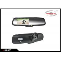 Buy cheap 4.3 Inch Rear View Mirror Backup Camera SystemWith High Reflective Rate product