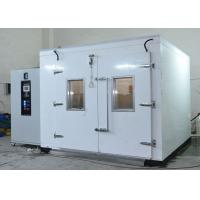 Buy cheap Large Size Walk-In Chamber Full Color LCD Climate Humidity Temperature Testing Chamber product