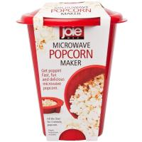Buy cheap FDA Glass Microwave Popcorn Maker , Red Micro Popcorn Popper 16 * 16 * 16 from wholesalers