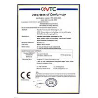 Shenzhen Peace Guarder Technology Co., LTD Certifications