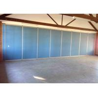 Buy cheap Heavy Duty Movable Partition Wall Wall Side Stacking Satin Anodised Polyester Powder Coating product
