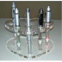 Buy cheap 2014 Best Selling Acrylic crystal detachable E cig display stand, showing stand, show shelf product