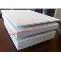 China Waterproof Mgo Board Fire Resistence Cement Fiber Glass Reinforced Magnesium Oxide Panel on sale