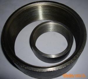 Buy cheap Zócalos negros de la tubería de acero de DIN/BSPT, fabricante del profesional de los acoplamientos product