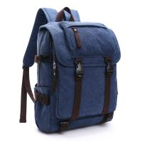 Buy cheap Canvas Large Capacity School Backpack , Patchwork Backpacks For College Students product