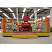 Buy cheap Big Mouth Monster Design Party City Bounce House Funny Inflatable Moon Bounce CE inflatable jumping product