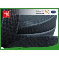 Buy cheap 50Mm Wide Black Hook And Loop Tape / Male And Female Hook And Loop Roll Fastening product