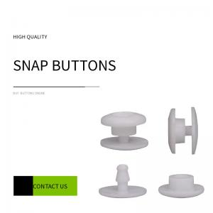 Buy cheap 10mm Round Head Resin Snap Button For Face Shields product