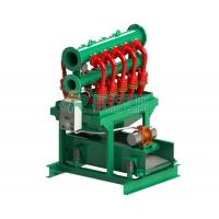 Buy cheap Bottom Shaker Desilter Hydrocyclone Machine for Oil and Gas Drilling product