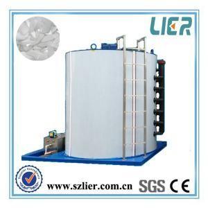 garantia de aço inoxidável de 2 anos do evaporador do gelo do floco de 1T 2T 3T 5T 10T 15T 20T