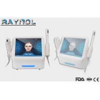 Buy cheap Beauty Equipment 2 Handles HIFU Machine for Face Lift and Vaginal Rejuvenation product