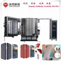 Buy cheap PVD Thermal Evaporation Sputter Coating Machine For Cell Phone Case Shielding Coating product