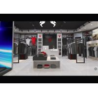 Buy cheap Casual Wear Shop Clothing Display Case , Brand Unique Design Clothes Hanger Stand product