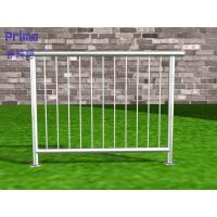 Buy cheap Balcony stainless steel railing with stainless steel handrail design system product
